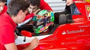 Marta Ariza en Ferrari